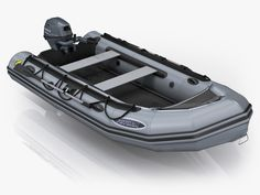 3ds max inflatable boat zodiac -2