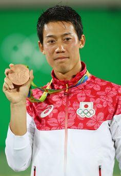 錦織 銅メダル獲得、日本勢96年ぶりの偉業<男子テニス> #テニス #リオ五輪