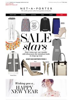 #newsletter Net-a-porter 12.2013  Editor's sale picks: don't miss these star buys