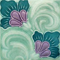 My tile collection Archives - Art Nouveau Tiles Antique Tiles, Vintage Tile, Antique Art, Art Nouveau Tiles, Art Nouveau Design, Azulejos Art Nouveau, William Morris Art, Decorative Tile, Fantastic Art