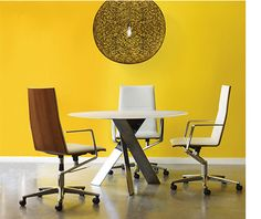 Sola executive and conference seating proves that a minimalist design can achieve maximum impact.