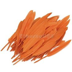 50pcs Dyed Goose Feather 4-6in Lily Orange $3.67 free shipping, eBay  (*Could be very useful for Harmony Day craft) Harmony Day, Orange House, Goose Feathers, Preschool, Lily, Free Shipping, Decoration, Crafts, Home Decor