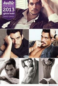 Hottie Madness 2013 Winner: David Gandy! (Bonus MVH: Robert Pattinson.) #hottiemadness