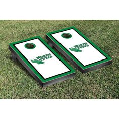 Victory Tailgate North Texas Mean Green Cornhole Game Set - 15758