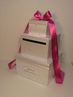 Items similar to Wedding Card Box White (Hot Pink) Gift Card Box Money Card Box -customize your color on Etsy Wedding Gift Boxes, Wedding Cards, Wedding Ideas, Wedding Favors, Pink Graduation Party, Gift Cards Money, Hot Pink Weddings, Gift Card Boxes, Pink Gifts