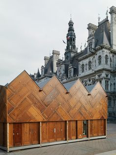 Encore Heureux uses recycled materials to build Circular Pavilion in Paris