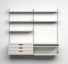 606 Universal Shelving System, Dieter Rams, 1960 for Braun - Rationalism - *Lecture: Ulm School of Design (HfG)* & *The Sixties: Plastic and Freedom*