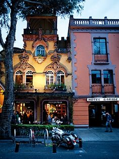 Coyoacan, this beautiful neighborhood has sone of the best food and entertainment, love going there as a child and now with my wife and two kids. never gets old. Mexico City (D.F.)