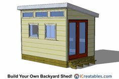24 Best 8x12 Shed Plans Images On Pinterest 8x12 Shed Plans