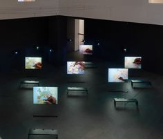 Bouchra Khalili. The Mapping Journey Project. 2008–11. Eight-channel video…