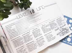Level 10 Life in Your Bullet Journal