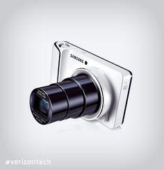 Sometimes you wanna shoot. Sometimes you wanna watch. Sometimes you wanna play. The Samsung Galaxy Camera™ lets  you do it all. #verizontech