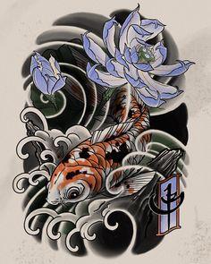 Ready for @stevestontattoocompany. #koi #koifish #carpediem #japanese #japanesetattoo #neojapanese #tattoo #tattoos #ink #digital #digitalartist #digitalart #asian #asian_inkandart #irezumi #irezumicollective #asian_inkspiration #thebesttattooartists #thebesttattooartistsjpn #japanesetattooart #tattoo_art_worldwide #ipad #ipadpro #ipadprotattooteam #richmond #bc #stevestontattooco #tattoosnob #tattoodo @tattoosmart