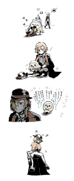 Chuuya are you seriously one of the top strongest in the mafia, because it sure doesn't look that way