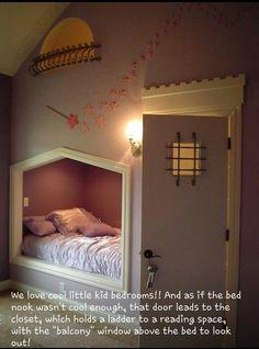 Cute idea for kids room
