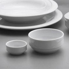 Bol X-Tambul pentru salata este realizat din portelan alb, lucios. Are diametrul de 250 mm.