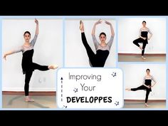 ▶ Improving Your Developpes | Kathryn Morgan - YouTube
