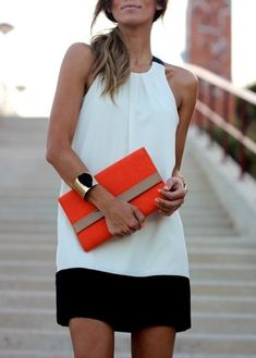 pop of color - Click image to find more Women's Fashion Pinterest pins