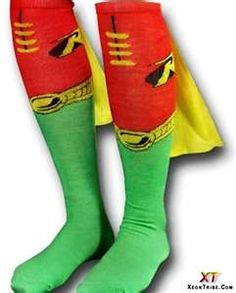 Crazy sock day idea for a boy<<I'm a girl and would totally wear these