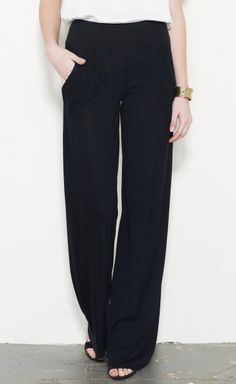 Rick Owens Lilies black pant. Perfect starting point for so many looks