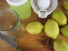 How to preserve lemons. Great to know for when you buy them in bulk!