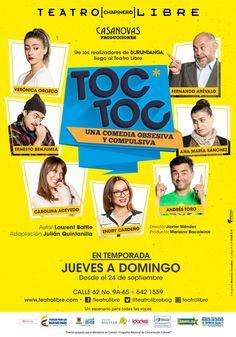 """Ríase con """"Toc Toc"""", la exitosa comedia que llega al Teatro Libre - Estereofonica"""