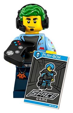 New Official Lego Series 19 CMF: Video Game Champ - Minifigure Minifigura Lego, Lego Games, Lego Moc, Lego Batman, Lego Ninjago, Lego Star, Lego Zombies, Competition Games, German Toys
