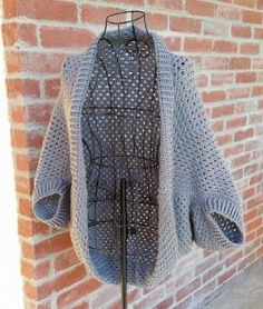 Granny Shrug, a written pattern |