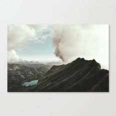 Canvas Print featuring Far Views - Landscape Photography by Regnumsaturni