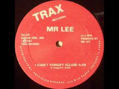 Mr. Lee - I Can't Forget (Club) - YouTube