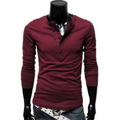 Mens Casual layered style pocket shirt - love it!