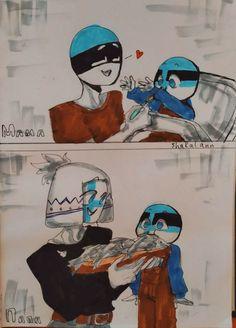 I love there child ( = 3 = ) Paper Child, Hetalia Anime, Mundo Comic, The Ch, Country Men, Human Art, Beautiful Family, Cute Photos, Kawaii Anime