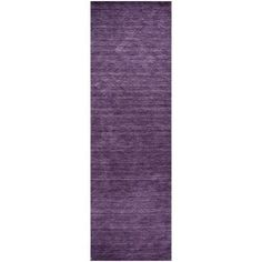 Rizzy Home Technique TC8267 Rug - (2 Foot 6 Inch x 8 Foot), Purple