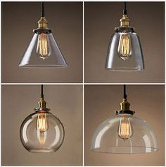 Vintage-Industry-Glass-Pendant-lamp-Chandeliers-Aisle-Bar-lights-Lampshade-H5081