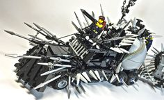 LEGO Will Imagines What Mad Max LEGO Vehicles Would Look Like #lego trendhunter.com