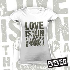 LOVE IS IN THE AIR (damska koszulka t-shirt)