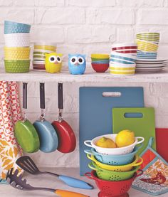 Cost Plus World Market's brilliant selection of colorful cookware, utensils, bakeware and more designed with serious cooks >> #WorldMarket Cooking with Color