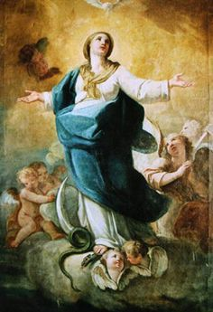 Inmaculada Concepción  ca.1781 Óleo/lienzo170 x 113 Málaga   Colección particular Atribuido a Goya