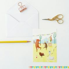Let's have a stationary party today! Because it is friyay!