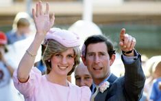 Princess Diana and Prince Charles in New Zealand