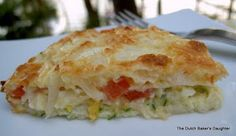 The Dutch Baker's Daughter: Impossible Zucchini Pie