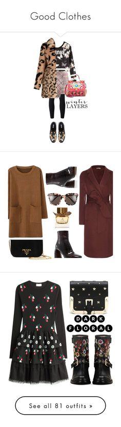 """Good Clothes"" by guzmansusana ❤ liked on Polyvore featuring adidas Originals, Chicwish, Dune, Dolce&Gabbana, Bottega Veneta, Prada, E L L E R Y, Gentle Monster, Burberry and RED Valentino"