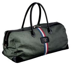 Travel in style with the Iconic Cosie Bag  by S.T.Dupont - inspired by Hollywood legend, Humphrey Bogart. http://www.stonemarketing.com/st-dupont-iconic-cosie-bag-green-and-black-leather