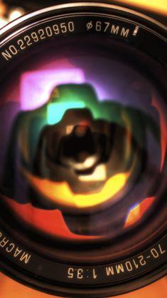 Camera Lens Close Up #iPhone #5s #Wallpaper