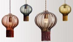 Design lampen van glas