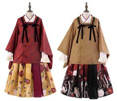 LolitaWardtobe - Bring You the latest Lolita dresses, coats, shoes, bags etc from Trustworthy Taobao indie Brands. We never resell Lolita items from untrustworthy Taobao stores. Modern Fashion, Cute Fashion, Asian Fashion, Fashion Outfits, Fashion Design, Style Lolita, Gothic Lolita, Kimono Fashion, Lolita Fashion