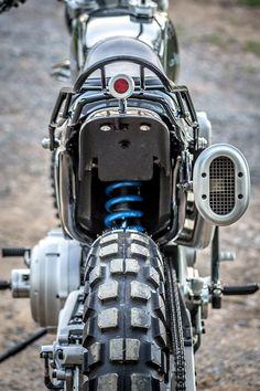 "Harley Sportster ""Enduro"" by LC Fabrications Motorcycle Exhaust, Scrambler Motorcycle, Bobber, Custom Motorcycles, Custom Bikes, Harley Motorcycles, Sons Of Anarchy Hoodie, Harley Davidson Scrambler, Hd Design"
