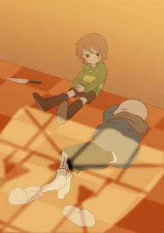 Chans Pictures/Oneshots (Sans x Chara) - taking a break Anime Undertale, Undertale Drawings, Undertale Memes, Undertale Cute, Undertale Ships, Chara, Toby Fox, Rpg Horror Games, Underswap