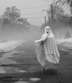 Edmonds, WA ~ Folks here tell of the ghost that stands beside the road on Sunset Dr.