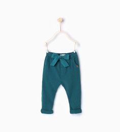 Imagem 1 de Calças bolso à frente da Zara